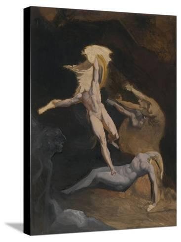 Perseus Slaying the Medusa-Henry Fuseli-Stretched Canvas Print