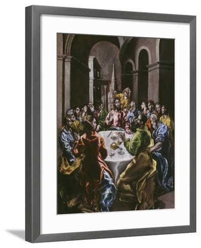 The Feast in the House of Simon, 1608-14-El Greco-Framed Art Print