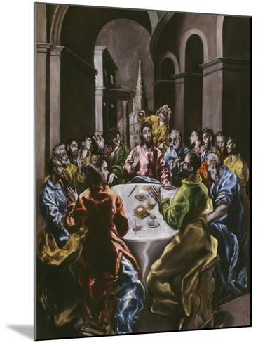 The Feast in the House of Simon, 1608-14-El Greco-Mounted Giclee Print