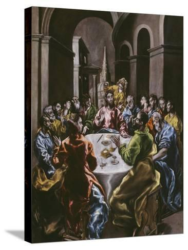 The Feast in the House of Simon, 1608-14-El Greco-Stretched Canvas Print