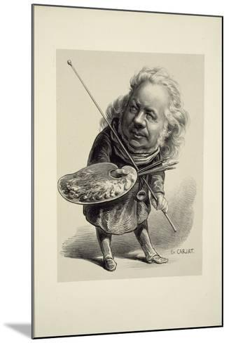 Portrait of Honor? Daumier, 1862-Etienne Carjat-Mounted Giclee Print