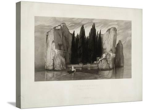 The Isle of the Dead, 1890-Max Klinger-Stretched Canvas Print