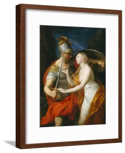 Peace and War, 1776-Pompeo Girolamo Batoni-Framed Art Print