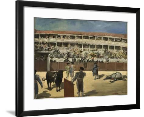 Bullfight, 1865-66-Edouard Manet-Framed Art Print