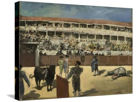 Bullfight, 1865-66-Edouard Manet-Stretched Canvas Print