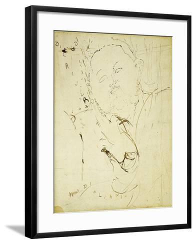 Diego Rivera, 1915-Amedeo Modigliani-Framed Art Print