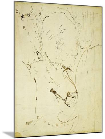 Diego Rivera, 1915-Amedeo Modigliani-Mounted Giclee Print