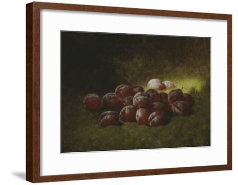Purple Plums, 1895-Carducius Plantagenet Ream-Framed Art Print