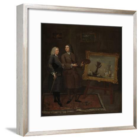 Thomas Walker and Peter Monamy, C.1735-Gawen Hamilton-Framed Art Print