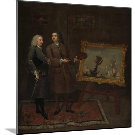 Thomas Walker and Peter Monamy, C.1735-Gawen Hamilton-Mounted Giclee Print