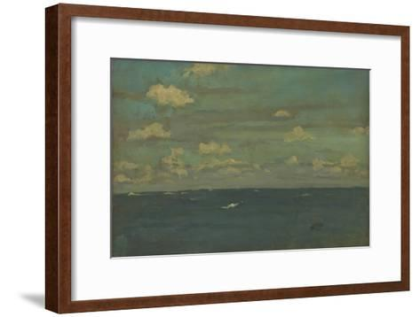 Violet and Silver - the Deep Sea, 1893-James Abbott McNeill Whistler-Framed Art Print