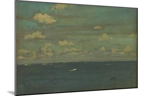 Violet and Silver - the Deep Sea, 1893-James Abbott McNeill Whistler-Mounted Giclee Print