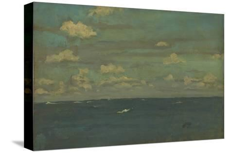 Violet and Silver - the Deep Sea, 1893-James Abbott McNeill Whistler-Stretched Canvas Print