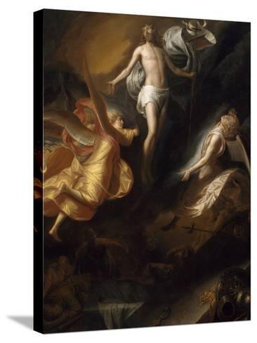 Resurrection of Christ, 1665-70-Samuel van Hoogstraten-Stretched Canvas Print