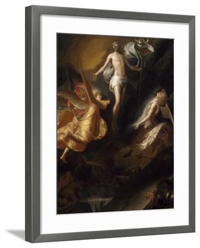 Resurrection of Christ, 1665-70-Samuel van Hoogstraten-Framed Art Print