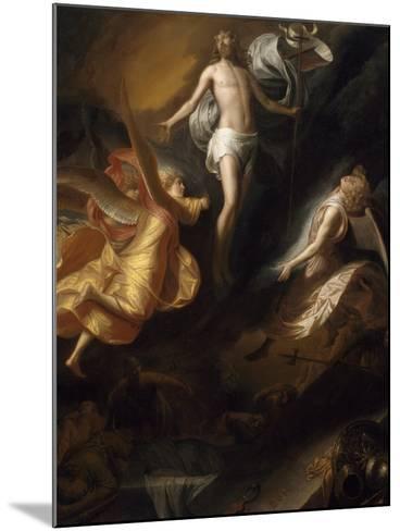 Resurrection of Christ, 1665-70-Samuel van Hoogstraten-Mounted Giclee Print