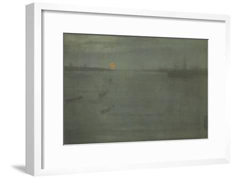 Nocturne: Blue and Gold, Southampton Water, 1872-James Abbott McNeill Whistler-Framed Art Print
