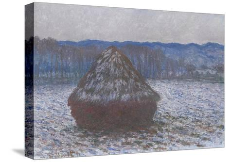 Stack of Wheat, 1890-91-Claude Monet-Stretched Canvas Print