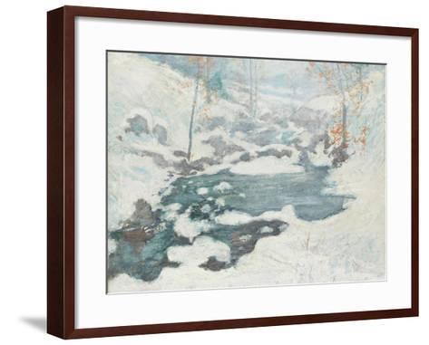 Icebound, C.1889-John Henry Twachtman-Framed Art Print