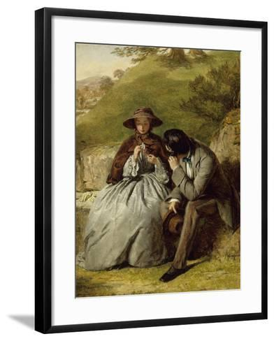 The Lovers, 1855-William Powell Frith-Framed Art Print