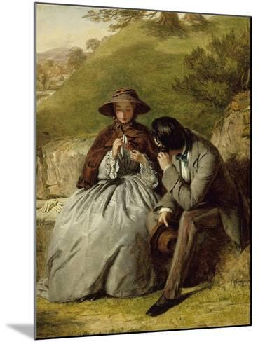 The Lovers, 1855-William Powell Frith-Mounted Giclee Print
