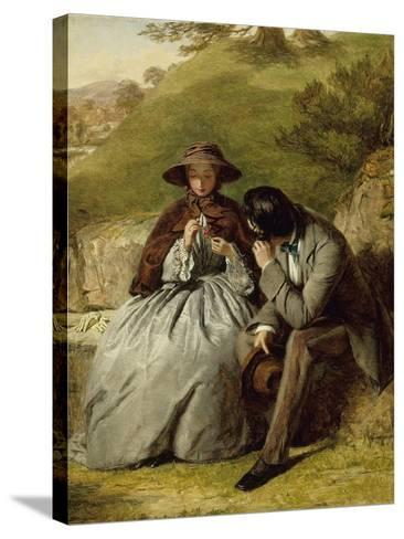 The Lovers, 1855-William Powell Frith-Stretched Canvas Print