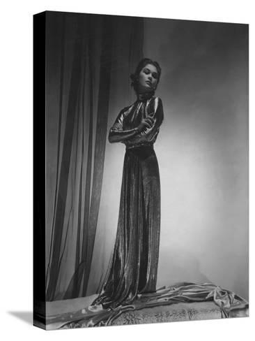 Vogue - October 1935-Horst P. Horst-Stretched Canvas Print