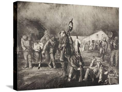 Bacchanal, 1918-George Wesley Bellows-Stretched Canvas Print