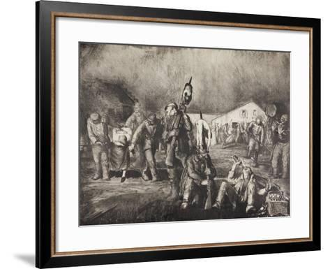 Bacchanal, 1918-George Wesley Bellows-Framed Art Print