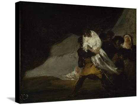 The Hanged Monk, C.1810-Francisco de Goya-Stretched Canvas Print