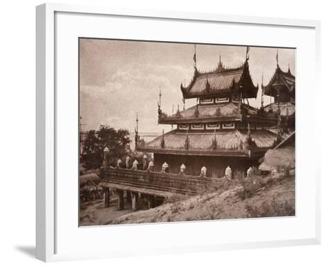 No. 8. Ye-Nan-Gyoung [Yenangyaung] Kyoung, 1855-Linnaeus Tripe-Framed Art Print
