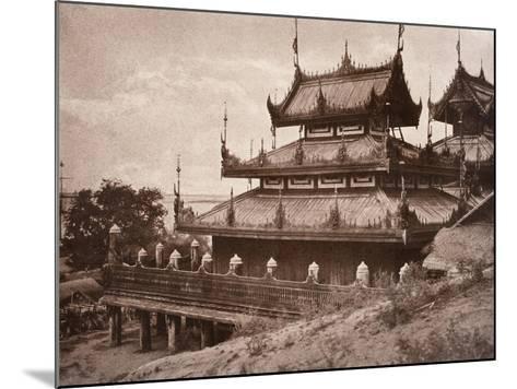 No. 8. Ye-Nan-Gyoung [Yenangyaung] Kyoung, 1855-Linnaeus Tripe-Mounted Giclee Print