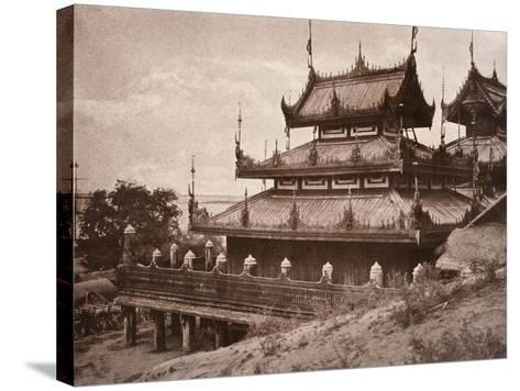 No. 8. Ye-Nan-Gyoung [Yenangyaung] Kyoung, 1855-Linnaeus Tripe-Stretched Canvas Print