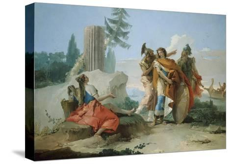 Armida Abandoned by Rinaldo, 1742-45-Giovanni Battista Tiepolo-Stretched Canvas Print