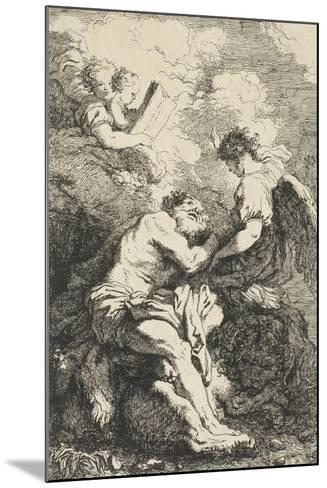 Saint Jerome, C.1761-65-Jean-Honore Fragonard-Mounted Giclee Print