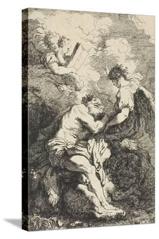 Saint Jerome, C.1761-65-Jean-Honore Fragonard-Stretched Canvas Print
