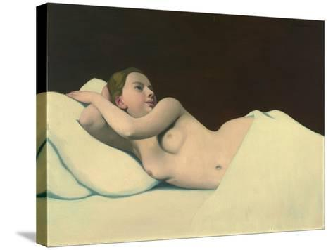 Nude, 1911-Felix Edouard Vallotton-Stretched Canvas Print