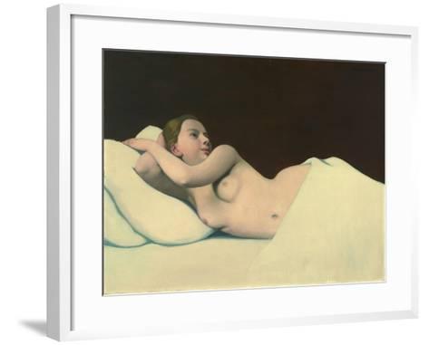 Nude, 1911-Felix Edouard Vallotton-Framed Art Print