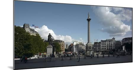 Trafalgar Square Panorama, Westminster, London-Richard Bryant-Mounted Photographic Print