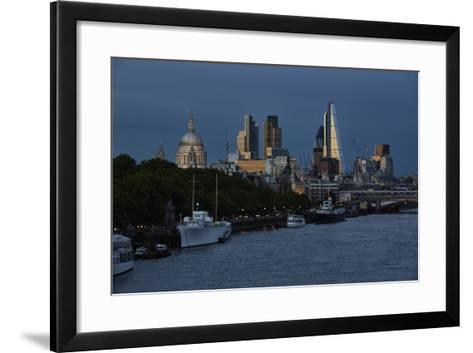 The Leadenhall Building,The City of London-Richard Bryant-Framed Art Print