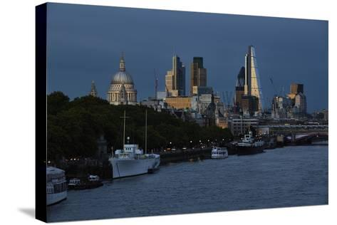 The Leadenhall Building,The City of London-Richard Bryant-Stretched Canvas Print