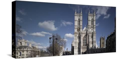 Westminster Abbey, Westminster, London. Exterior-Richard Bryant-Stretched Canvas Print