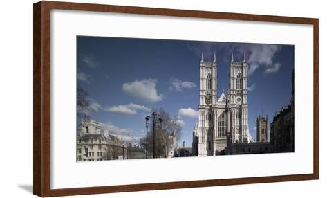 Westminster Abbey, Westminster, London. Exterior-Richard Bryant-Framed Art Print