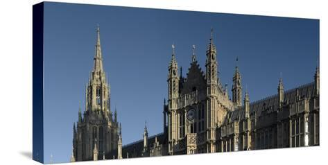 Houses of Parliament, Westminster, Westminster, London-Richard Bryant-Stretched Canvas Print