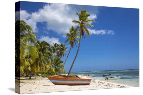 Dominican Republic, Punta Cana, Parque Nacional Del Este, Saona Island, Mano Juan-Jane Sweeney-Stretched Canvas Print