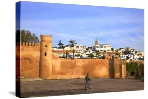 City Walls, Oudaia Kasbah, Rabat, Morocco, North Africa-Neil Farrin-Stretched Canvas Print