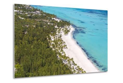 Dominican Republic, Punta Cana, Cap Cana, View of Juanillo Beach-Jane Sweeney-Metal Print