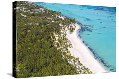 Dominican Republic, Punta Cana, Cap Cana, View of Juanillo Beach-Jane Sweeney-Stretched Canvas Print