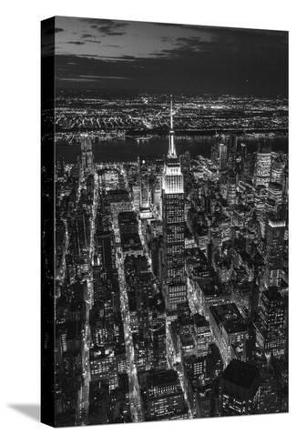 Empire State Building and Manhattan, New York City, New York, USA-Jon Arnold-Stretched Canvas Print