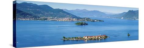 Idyllic Isola Dei Pescatori (Fishermen's Islands), Borromean Islands, Lake Maggiore-Doug Pearson-Stretched Canvas Print